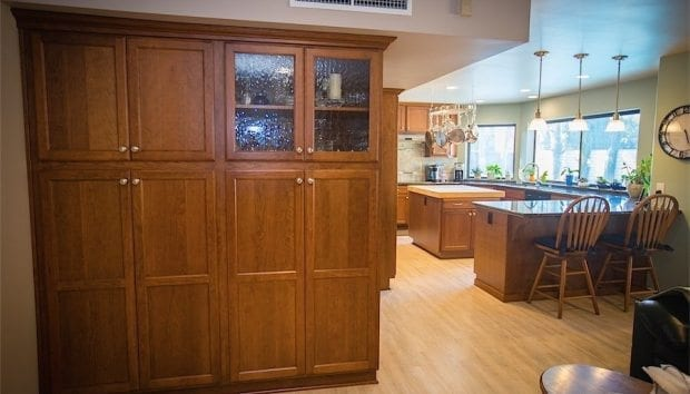 Space Saving Cabinetry